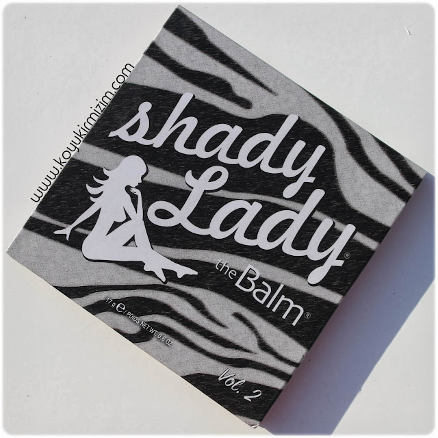 The Balm Shady Lady Vol.2 Palet