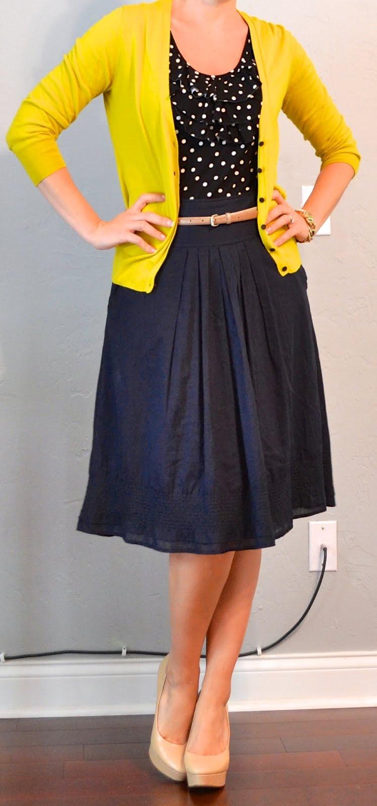 Cardigan And Skirt 81