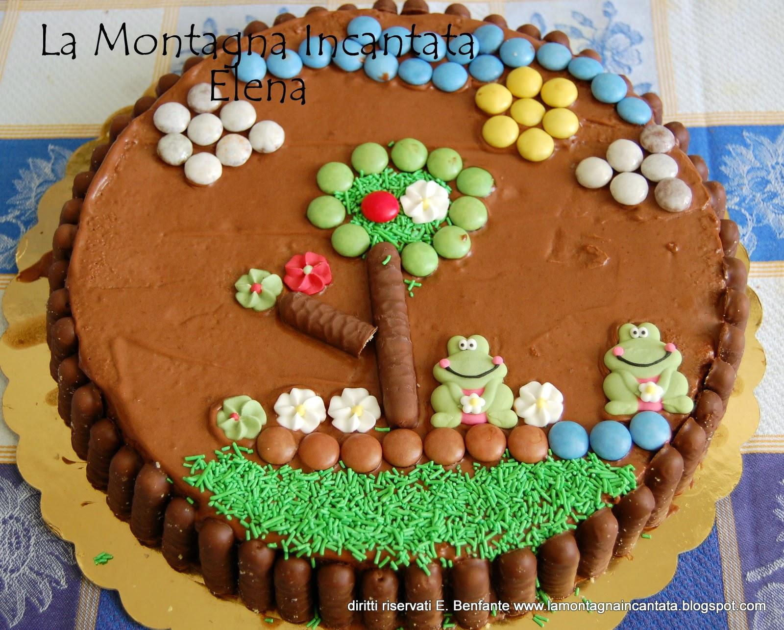 La Montagna Incantata: Torta chocolatine per i sette anni di Davide