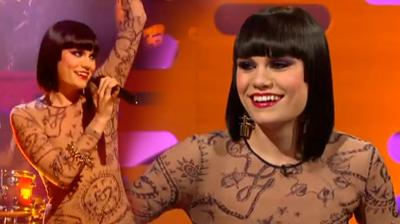 Jessie J, performs Price Tag at Graham Norton show, London, 2011.