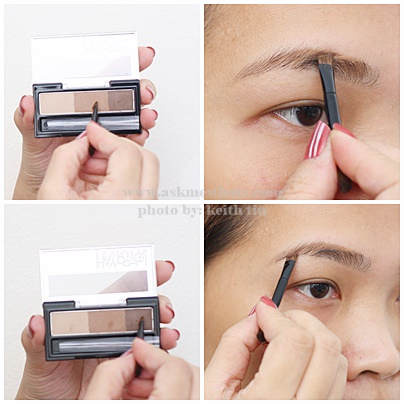 Heavy Rotation Powder Eyebrow and Nose Powder (02 Natural Brown) Review