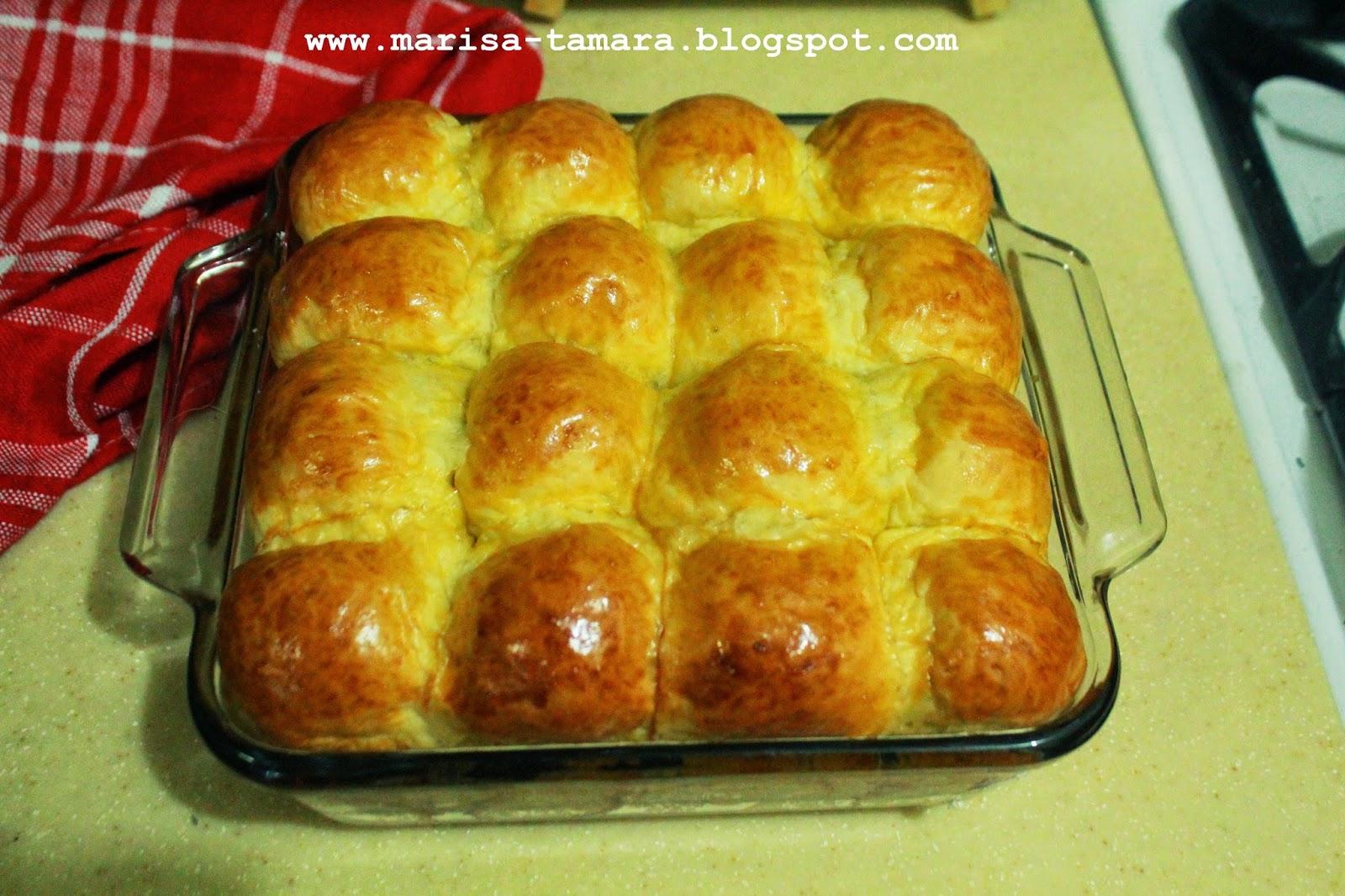 Welcome To Marisa's Kitchen: Roti Ubi
