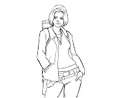 #1 Battlestar Galactica Coloring Page