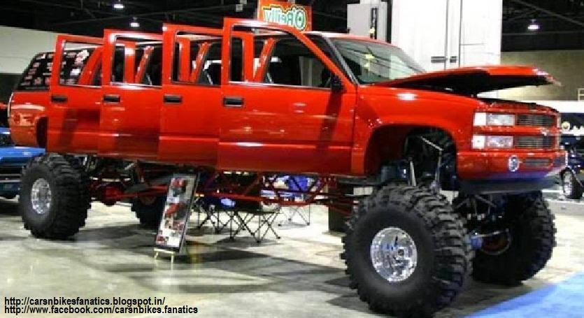 Car & Bike Fanatics: 1994 Chevrolet Suburban Monster Truck ...