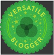 4º selinho - Versatille Blogger - 2013