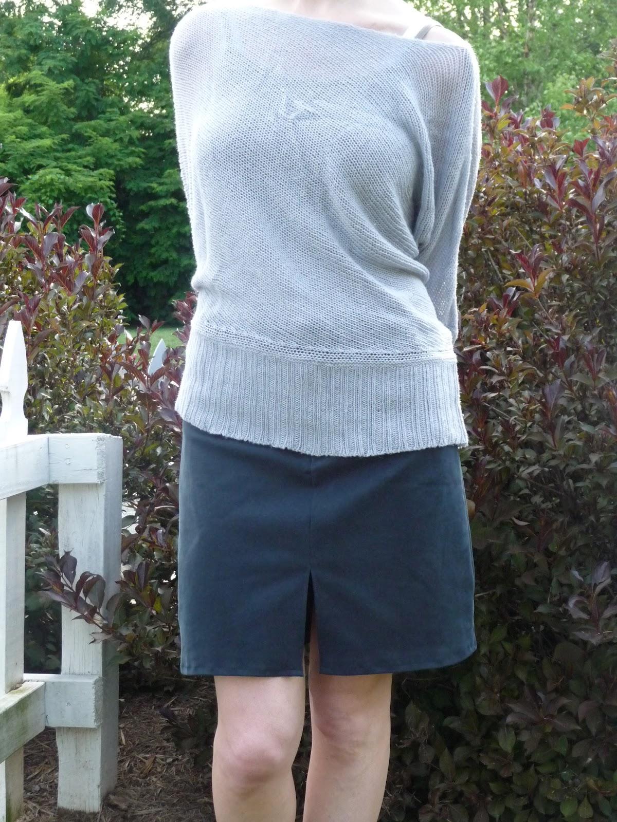 refashioned skirt