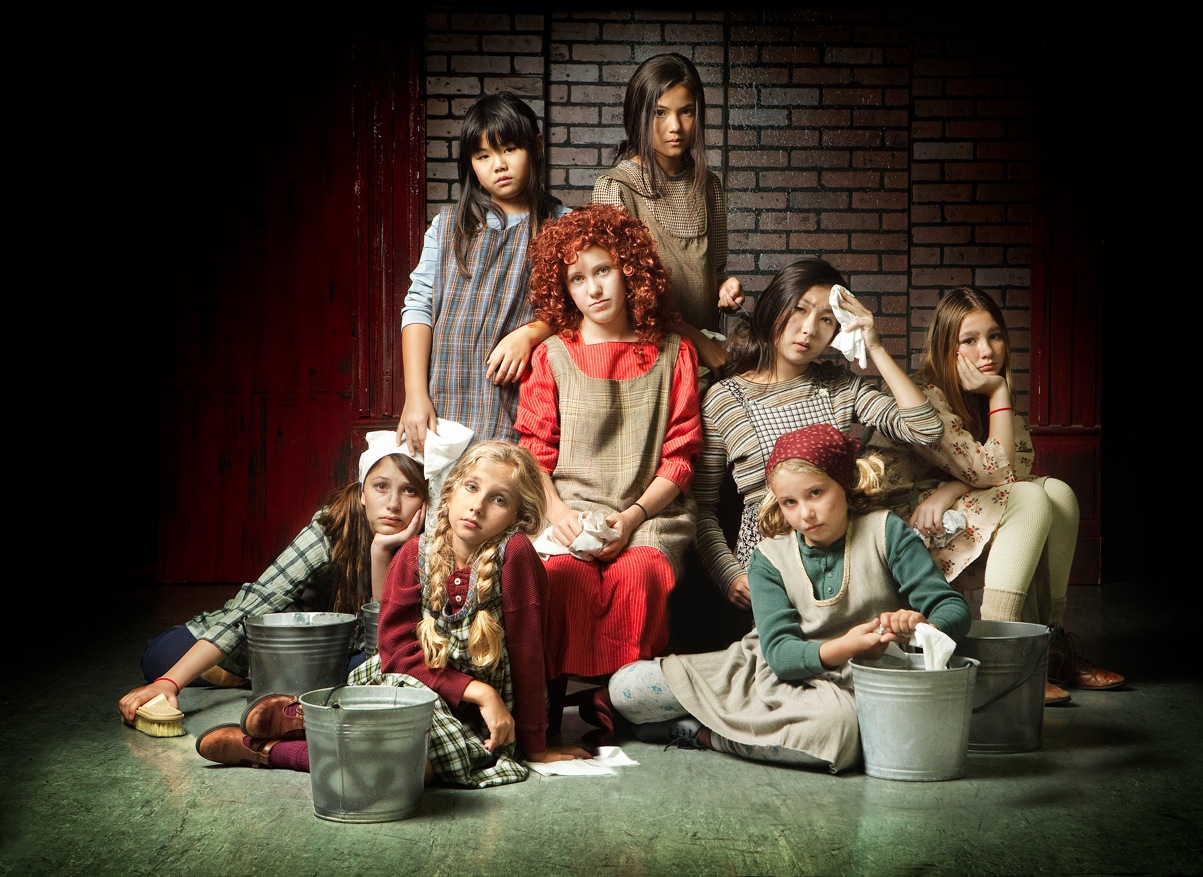 Image Gallery orphans annie musical - 327.5KB