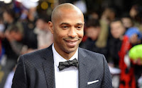 Former striker of Arsenal Thierry Henry