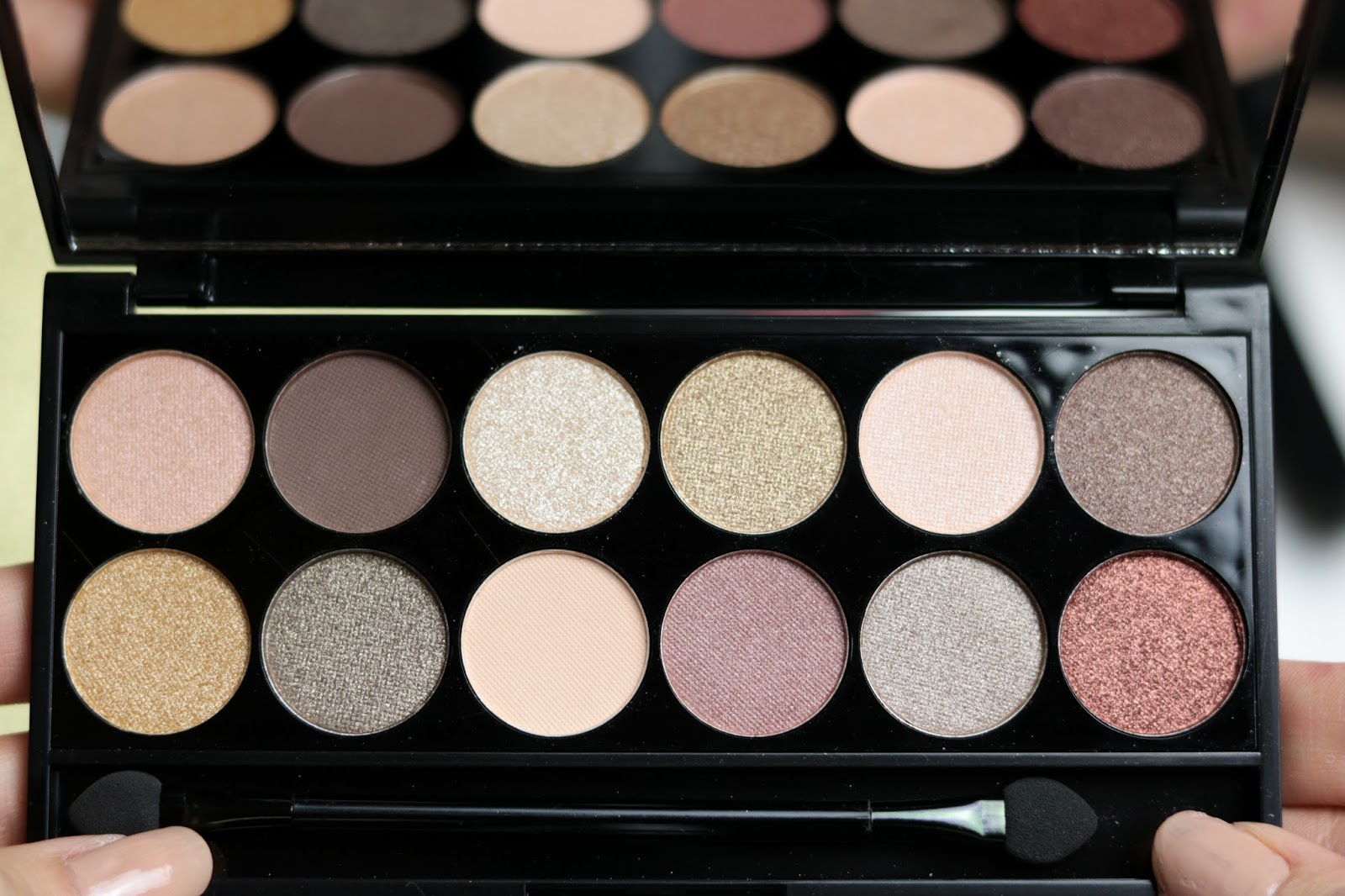 All Night Long, la nouvelle palette Sleek swatch