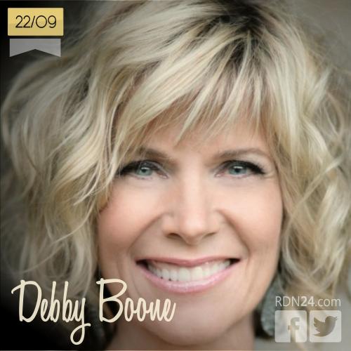 22 de septiembre | Debby Boone - @debbyboonemedia | Info + vídeos