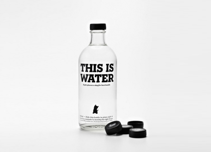 water bottle design