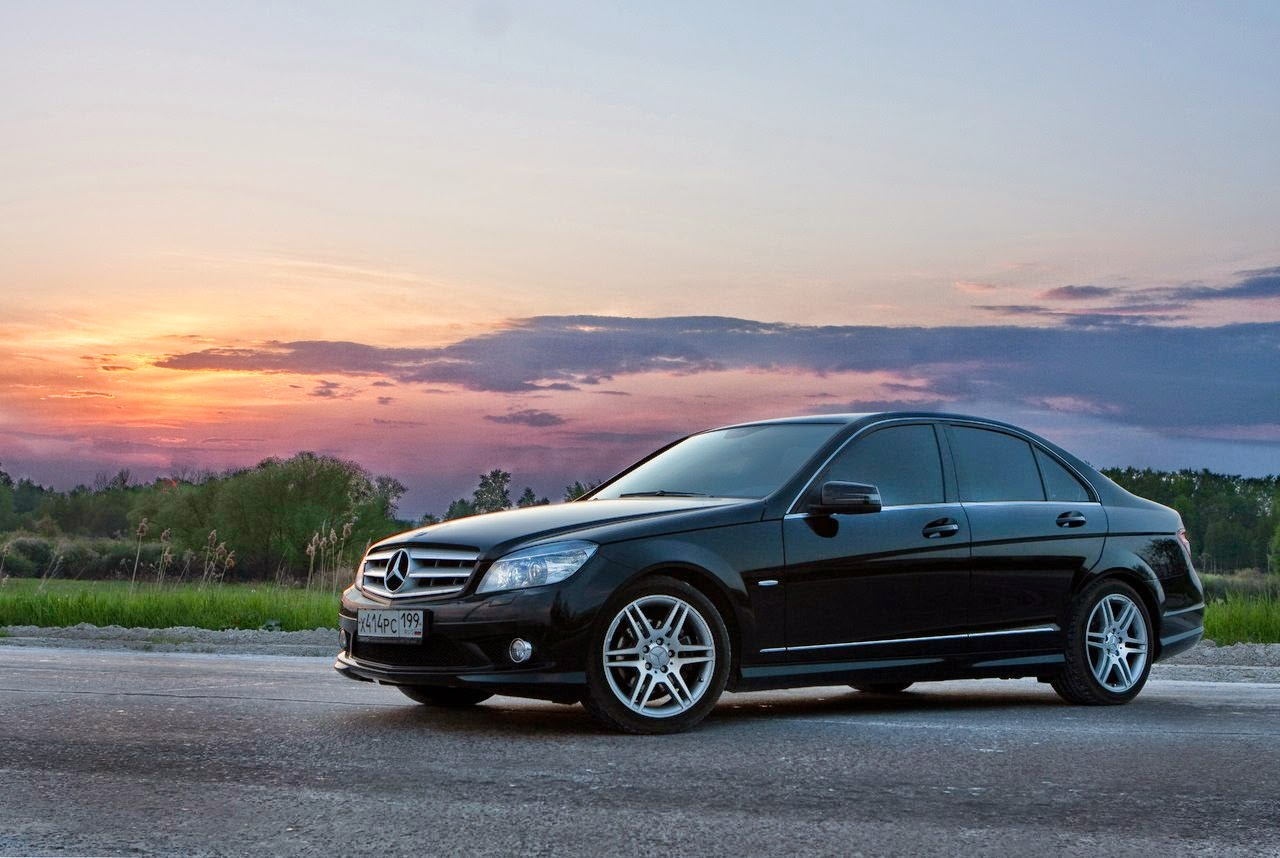 2008 mercedes benz c200 w204 amg package benztuning for Mercedes benz packages
