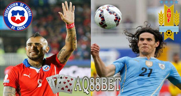 Liputan Bola - Salah satu pertandingan babak perempatfinal yang diprediksi paling menarik adalah Chile melawan Uruguay. Tuan rumah yang sedang dalam performa oke, menghadapi sang juara bertahan.
