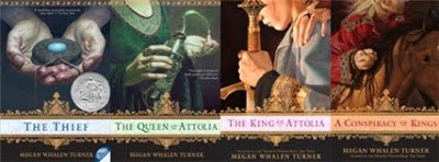 The Queen's Thief series by Megan Whalen Turner