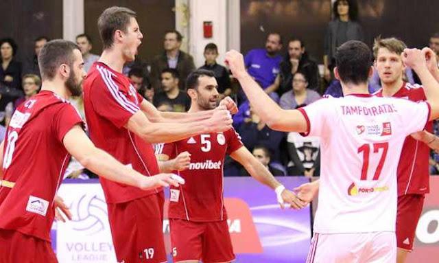 Ήττες για Εθνικό και Ορεστιάδα στη Volley League