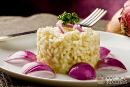 imagem de arroz temperado
