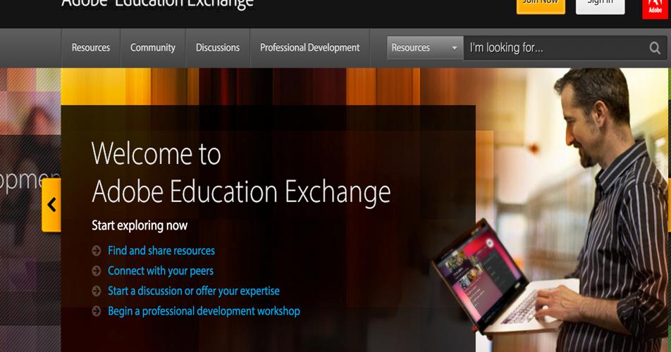 Adobe Education Exchange - An Excellent Educational Platform for Teachers