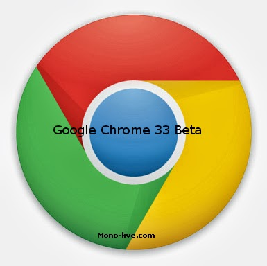 Google Chrome 33 Beta