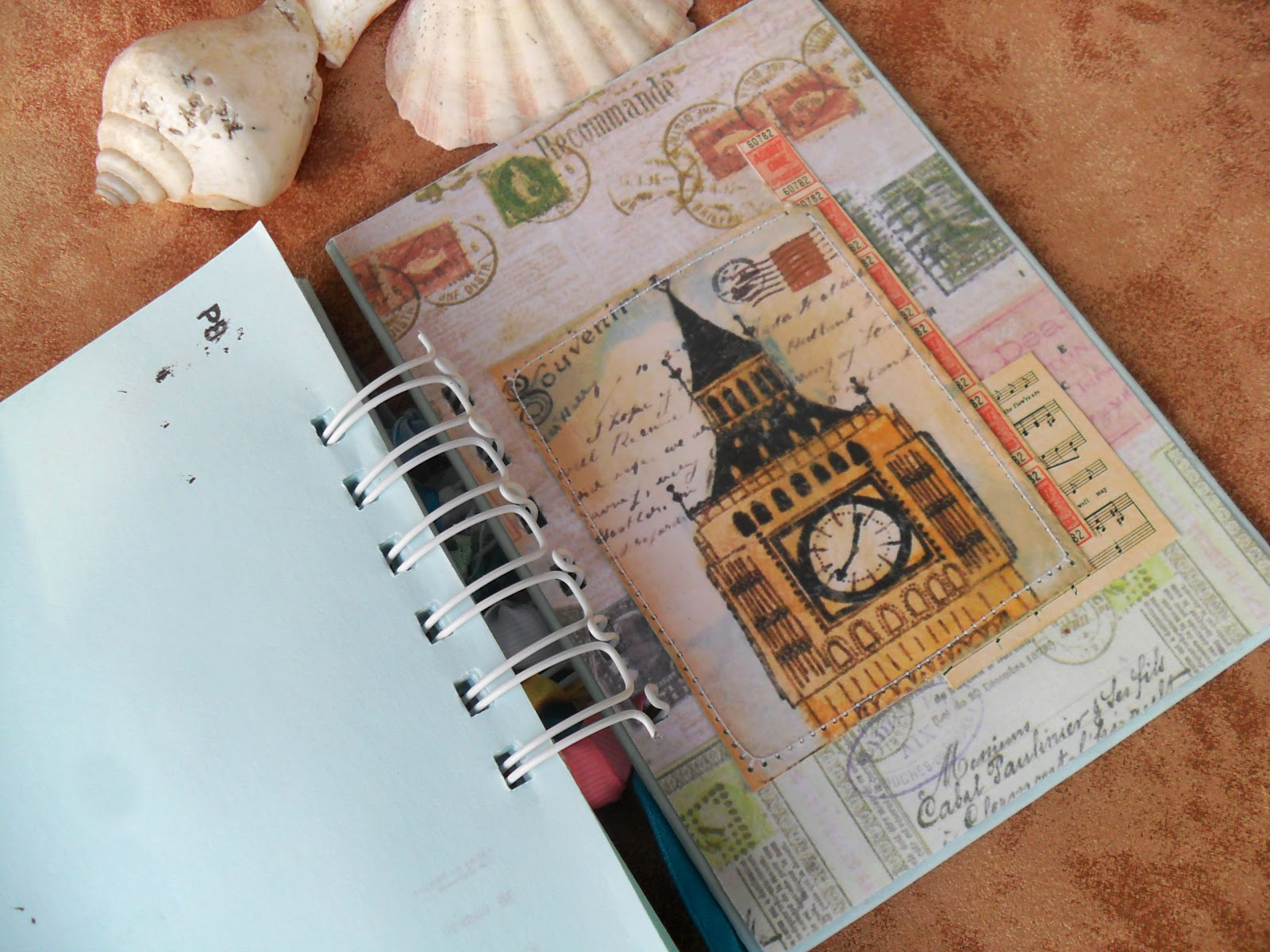 Блокнот для путешественника своими руками 934