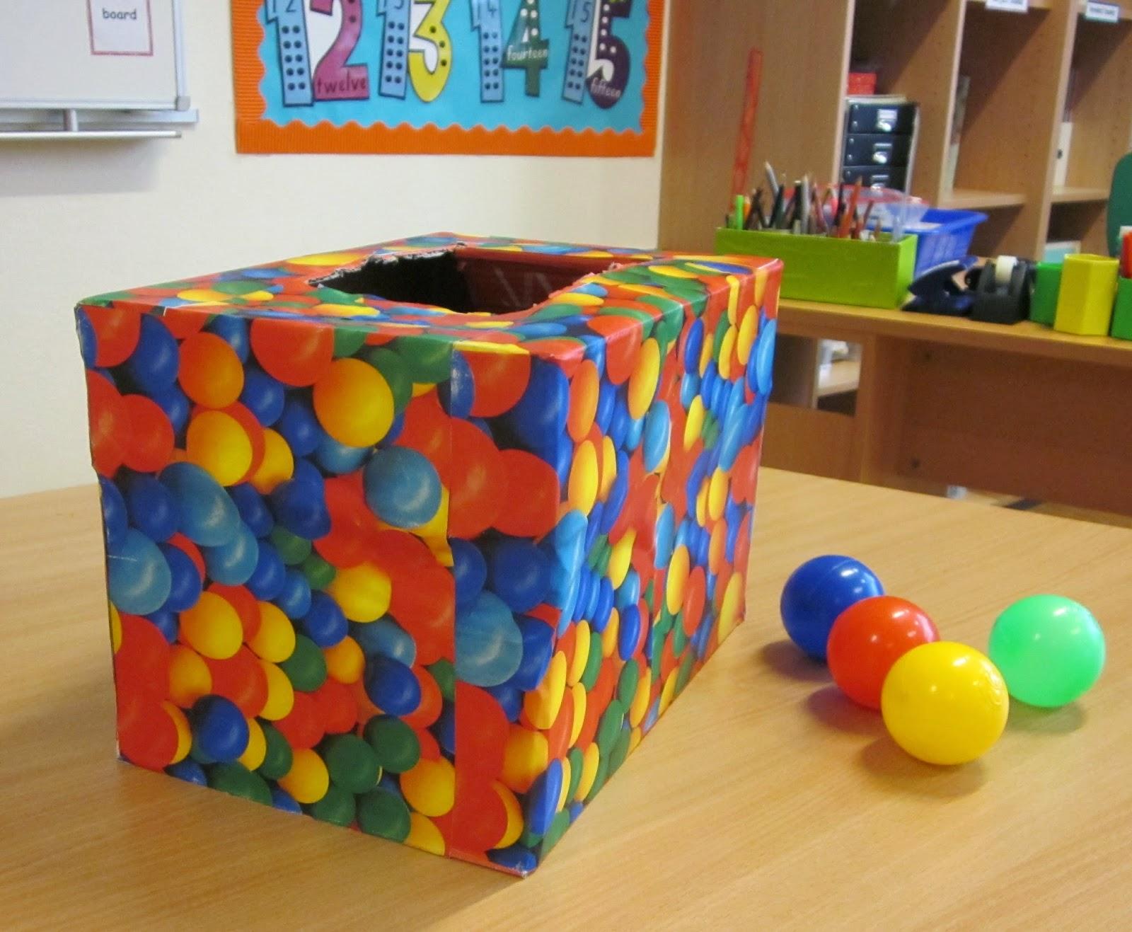 Peque o ele la caja de colores - Decorar con cajas de carton ...