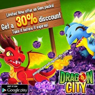 Oferta De Descuento De Gemas De Dragon City Android