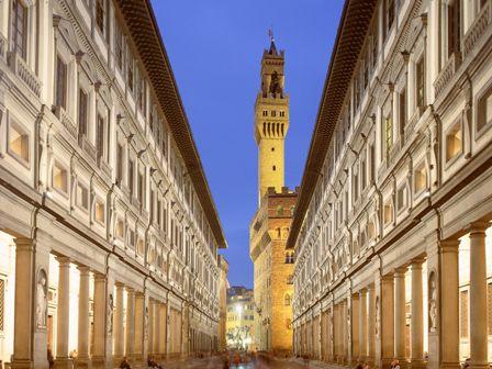 Galleria degli Uffizi (Uffizi Gallery), Florence, Italy