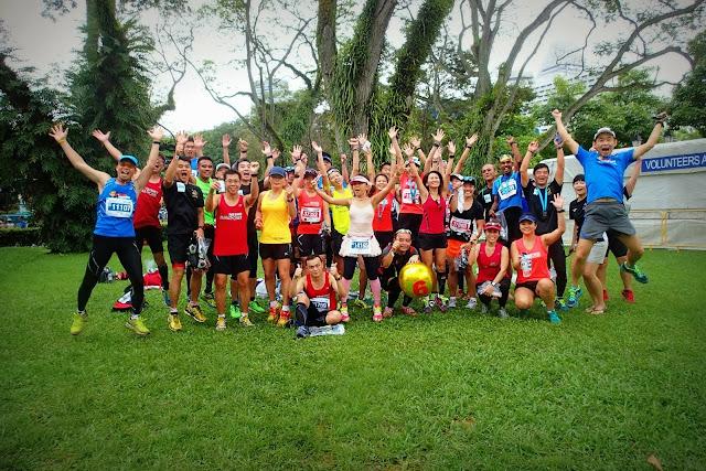 Sunbirds Soar @ Standard Chartered Marathon Singapore (SCMS) 2013