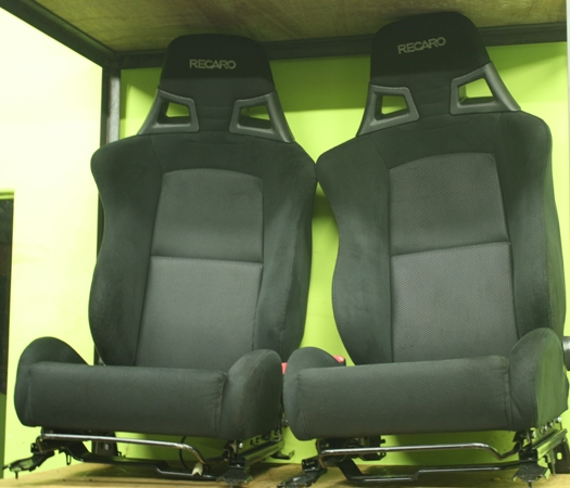 dingz garage seat recaro lancer evo x 10 complete. Black Bedroom Furniture Sets. Home Design Ideas