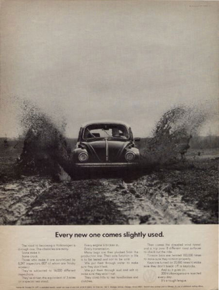 Only for Ads: Volks Wagen Old Ads - Rare Advertisements...