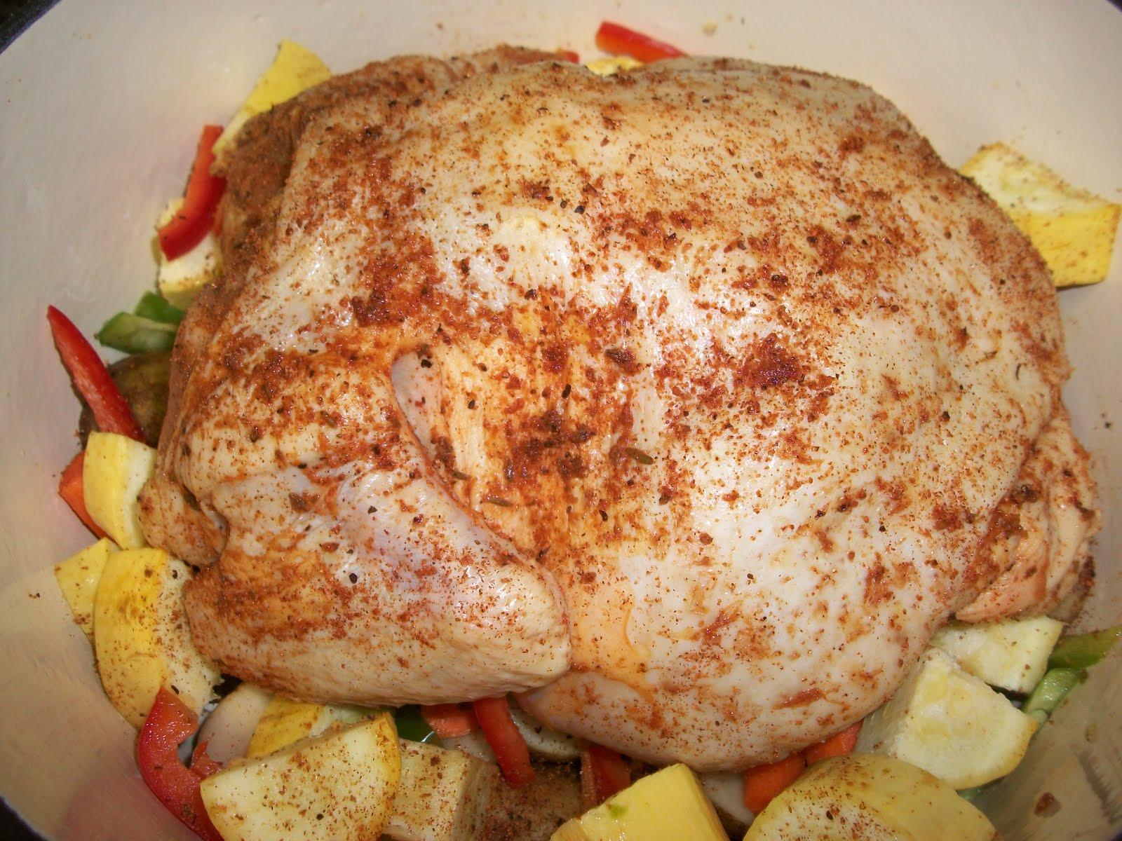 Rotisserie Style Chicken | Sandy\'s Kitchen