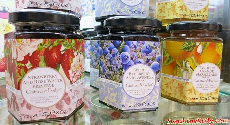 Strawberry And Rose Water Preserve, Wild Berry and Lavender Preserve, Tarocco Orange Marmalade Fine Cut, Crabtree & Evelyn, CNY Fine Food Collection 2015, Chinese New Year Fine Food Hamper, Fine Food, Pear and Pink Magnolia Bath and Body, Crabtree & Evelyn CNY, CNY 2015