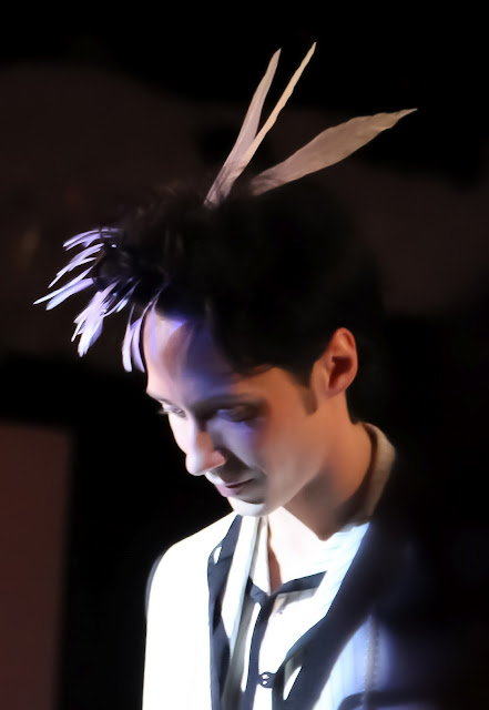 Johnny Weir. Photo © Ines Dahne-Steuber @ Official Johnny Weir Blog.
