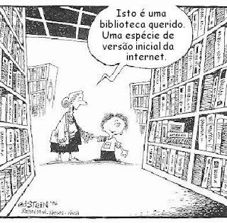 Biblioteca Versão inicial da internet