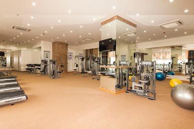 Phòng gym hiện đại
