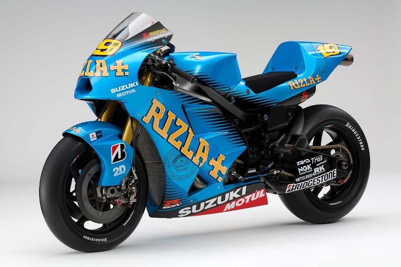 Rizla Suzuki GSV-R Race Bike