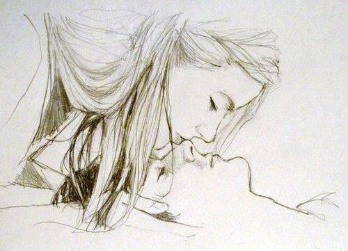 Dibujo de pareja abrazandose - Imagui