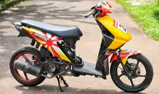 modification honda beat 3