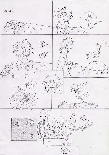 bd poulets attaque
