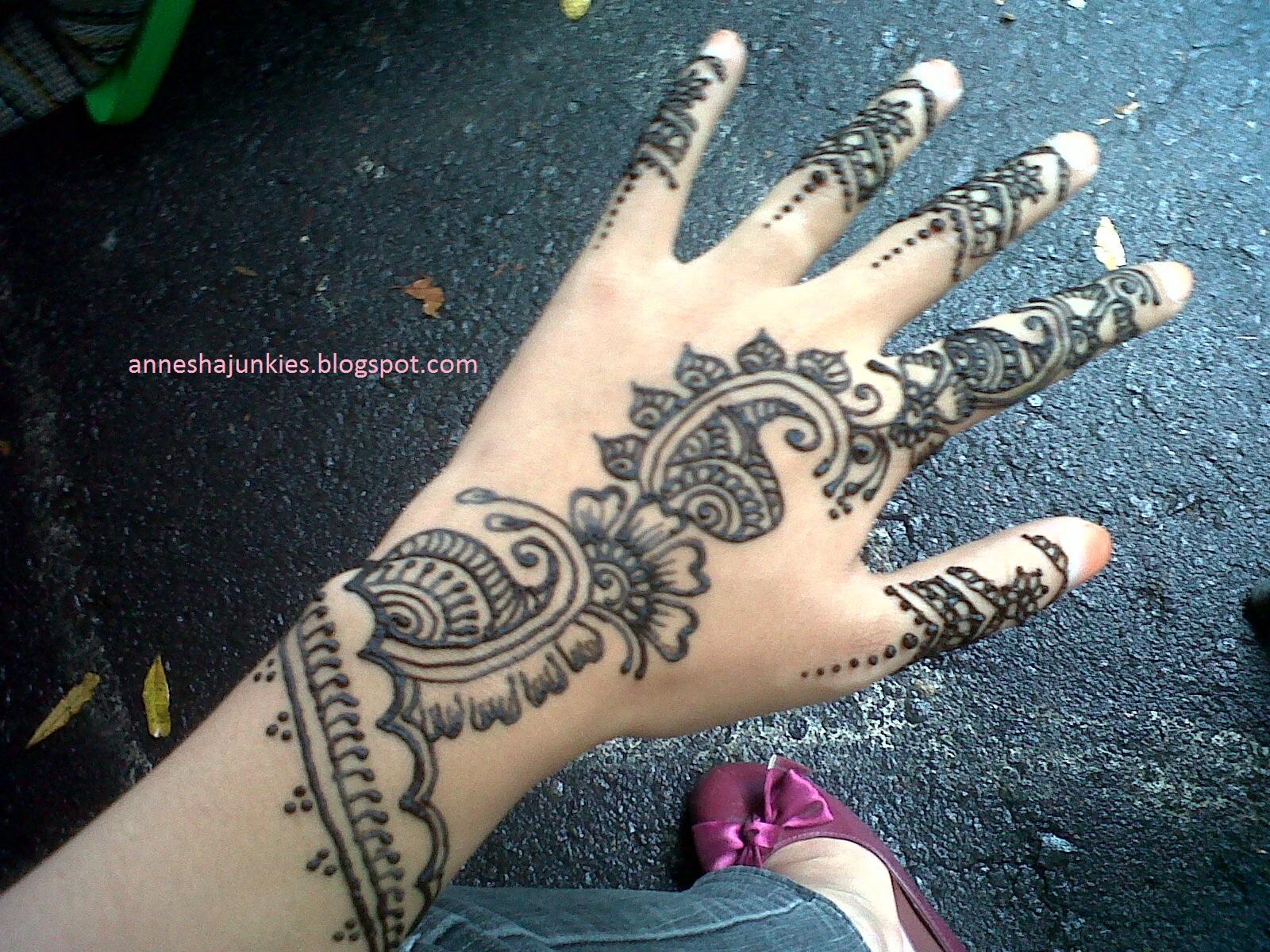 Annesha Diary Henna Addict