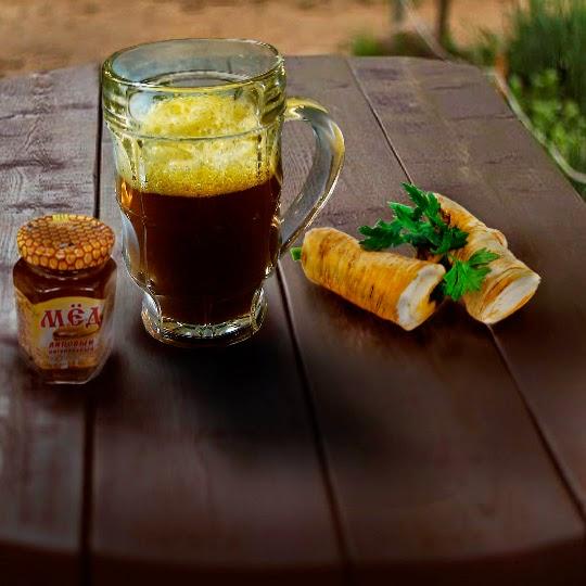 Рецепт кваса из березового сока и меда