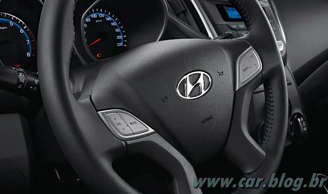 Hyundai HB 20 - volante