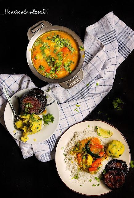 bhaja muger dal sobji dal recipe bengali recipe