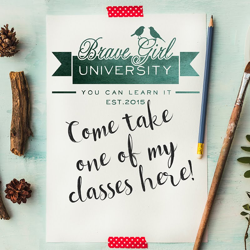 I'm teaching at Brave Girls University!