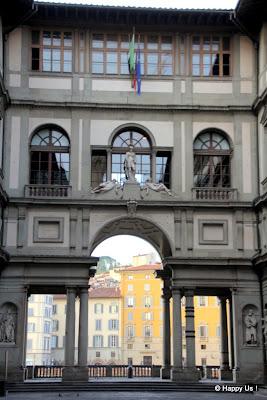 Galeries des Offices à Florence