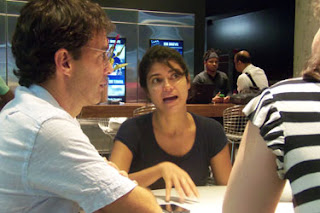 Cláudio Marques e Marília Hughes