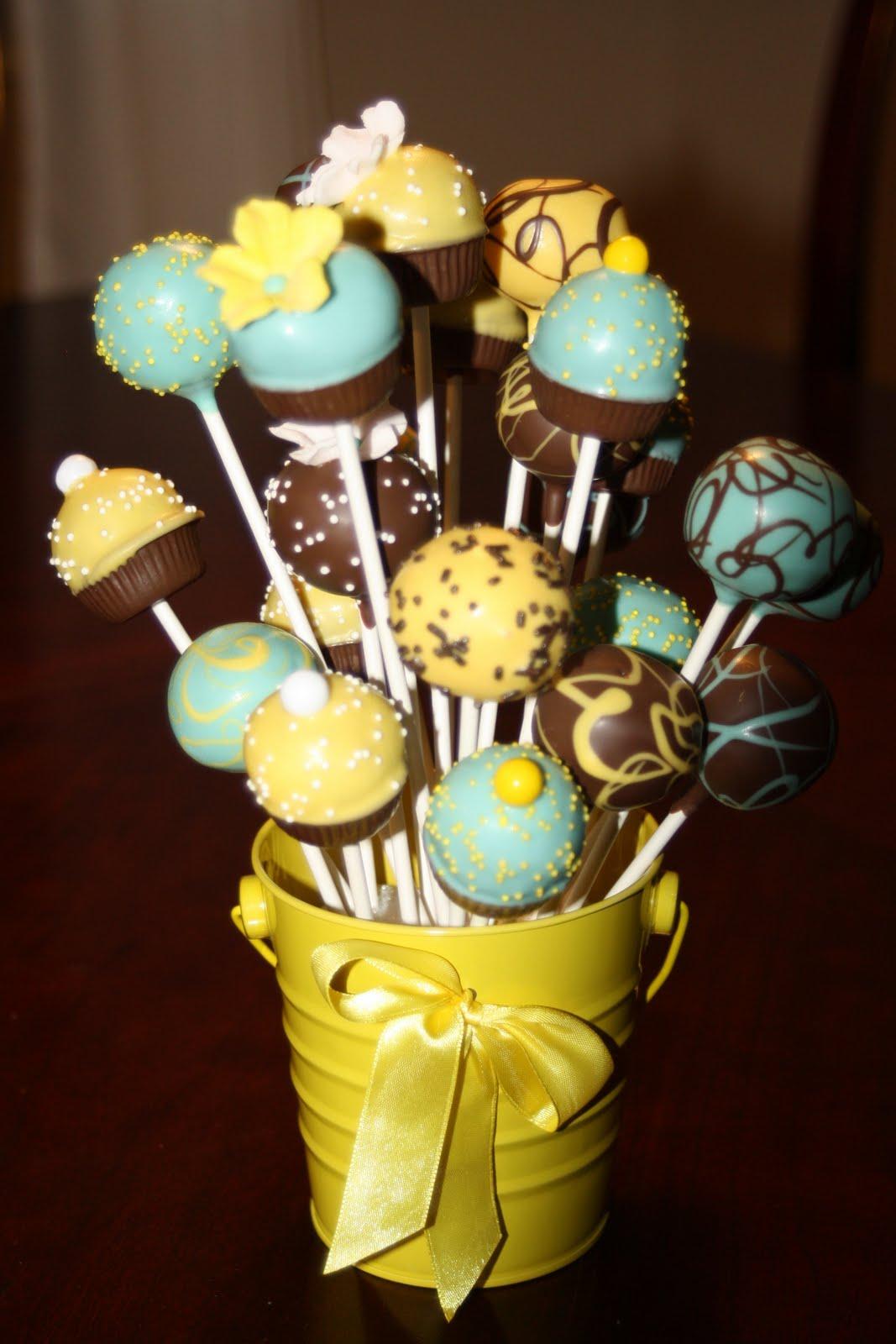 Pinterest Cake Pop Flowers