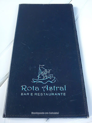 Rota Astral Bar e Restaurante: Cardápio