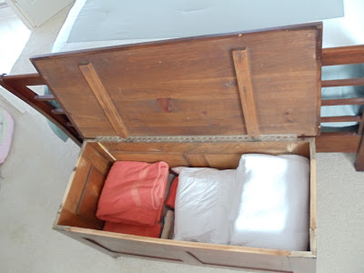 Inside our Blanket Box