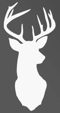 Shocking image pertaining to free printable deer stencils