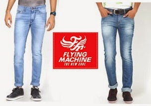 Price beyond Expectations: Flying Machine Men's Jeans worth Rs.1799 for Rs.614 Only (Free Home Delivery)